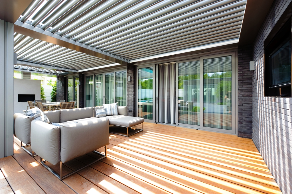 Patio Roof Shutters