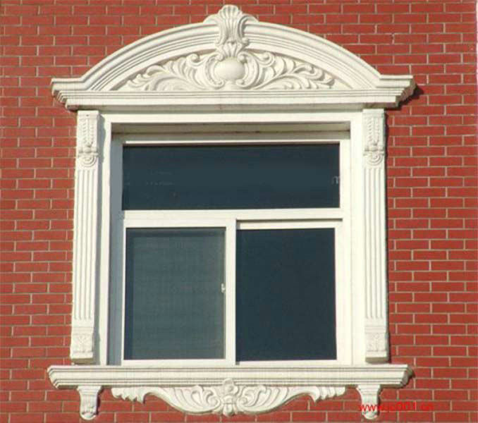 Architectural Commercial Exterior Decorative Trim : Window shutters kss thailand