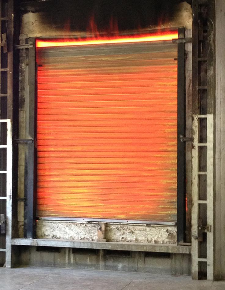Fire Retardant Roller Shutters