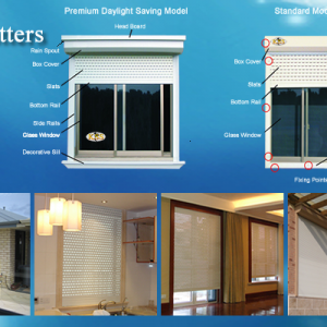 KSS Window Roller Shutters
