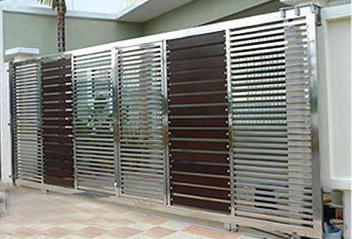 The Gallery For Stainless Steel Main Gate Design Catalogue