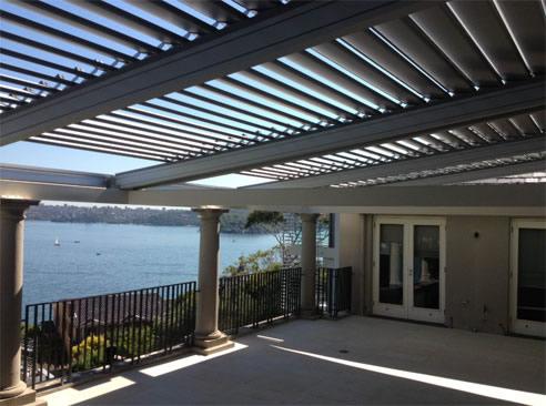 Patio Roof Shutters   Outdoor Goods