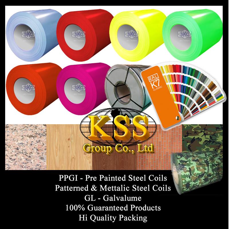 PPGI GL PPGL Steel Suppliers Thailand