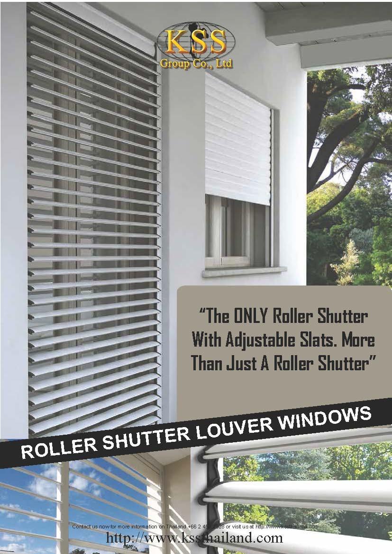 KSS Brochure Roller Shutter Louver Cover