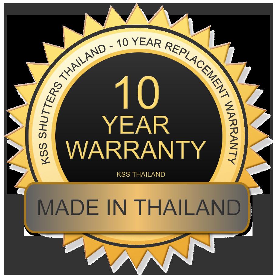 Roller Shutter Doors - 10 Year Warranty